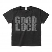 GOODENOUGH-PRINT TEE - GOOD LUCK (KIDS) - Charcoal / Monotone