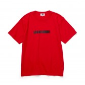 GOODENOUGH-PRINT TEE - MOTION - Red