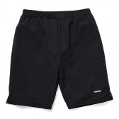 GOODENOUGH-RIPSTOP MESH SHORTS - Black