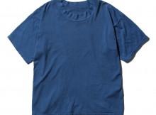 Porter Classic-HIGH NECK T-SHIRT - Blue