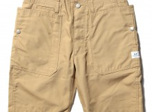 SASSAFRAS-FALL LEAF SPRAYER PANTS 1:2 - C:N Oxford 65:35 - Beige