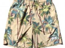STUSSY-Palm Short - Khaki