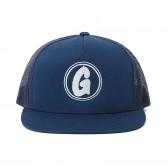 GOODENOUGH-MESH CAP - LOGO1 - Navy