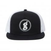 GOODENOUGH-MESH CAP - LOGO2 - Black : White