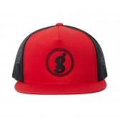 GOODENOUGH-MESH CAP - LOGO2 - Red : Black