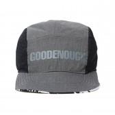 GOODENOUGH-REVERSIBLE JET CAP - Black : Charcoal