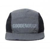 GOODENOUGH-REVERSIBLE JET CAP - Grey
