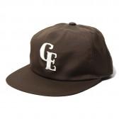 GOODENOUGH-B.B CAP - FELT PATCH - Brown