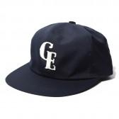 GOODENOUGH-B.B CAP - FELT PATCH - Navy