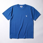 GOODENOUGH-DRY ATHLETIC TEE – GE LOGO - Blue