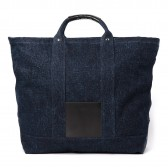 Hender Scheme-campus bag big - Denim