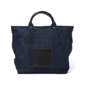 Hender Scheme-campus bag small - Denim