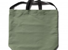 ENGINEERED GARMENTS-Carry All Tote w: Strap - Cotton Double Cloth - Olive
