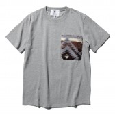 HABANOS-BOA-POCKET S:SL Tee - Gray