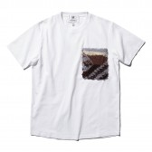 HABANOS-BOA-POCKET S:SL Tee - White