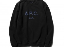 A.P.C.-A.P.C. L.A. スウェットシャツ - Black