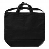 ENGINEERED GARMENTS-Carry All Tote w: Strap - Cotton Double Cloth - Black