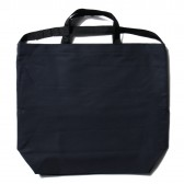 ENGINEERED GARMENTS-Carry All Tote w: Strap - Cotton Double Cloth - Dk.Navy