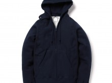 ENGINEERED GARMENTS-EG Workaday Raglan Zip Hoody - Navy