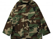 ENGINEERED GARMENTS-EG Workaday Smock Popover - Ripstop - Woodland Camo