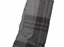 ENGINEERED GARMENTS-Long Scarf - Big Plaid - Grey