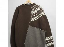 MOUNTAIN RESEARCH-Frankenstein Sweater - Brown