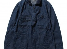 NGINEERED GARMENTS-Coverall Jacket - 11oz Cone Denim - Indigo