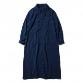 Porter Classic-WHEATHER LONG COAT - Blue