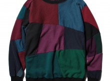 Rebuild by Needles - Sweat Shirt -> Crew Neck Sweat Shirt - Charcoal Dye
