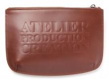 A.P.C.-Atelier ポーチ - Marron