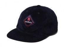 BEDWIN-CORDUROY 6 PANEL BASABBL CAP 「GREG」 - Navy