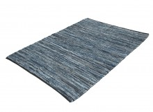 INDIA FLAG RG-140707-04A DENIM RUG 150×200 - Blue
