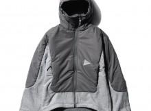 and wander-twill fleece jacket - Gray
