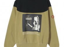 C.E : CAV EMPT-ROUND SHOULDER CREW NECK - Brown