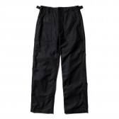 ENGINEERED GARMENTS-EG Workaday Fatigue Pant - Cotton Reversed Sateen - Black