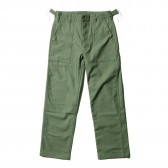 ENGINEERED GARMENTS-EG Workaday Fatigue Pant - Cotton Reversed Sateen - Olive