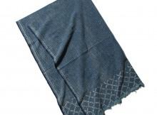 Porter Classic-COTTON STOLE - Blue