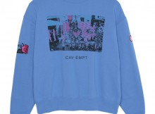 C.E : CAV EMPT-CARD 17 CREW NECK - Blue