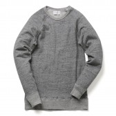 FLISTFIA-Crew Neck Sweat - Charcoal