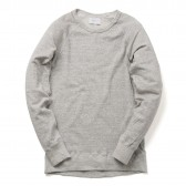 FLISTFIA-Crew Neck Sweat - Light Gray