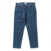 Living Concept-5POCKET DENIM PANTS : BIO WASH - B.Blue
