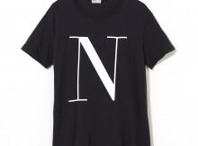 NAISSANCE-GRAPHIC T-SHIRT B - Black