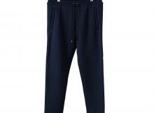 NEON SIGN-SEAMLESS SWEAT PANTS - Navy