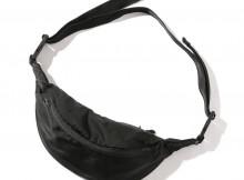 UNIVERSAL PRODUCTS-NYLON WAIST BAG - Black