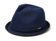 DELUXE CLOTHING-VITO MESH HAT - Navy