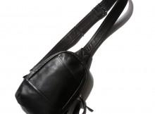 MOTO-BAG29 ボディバッグ - Black