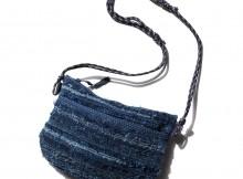 Porter Classic-HA GI RE MINI SHOULDER BAG - Blue