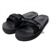 Suicoke × NEPENTHES Purple Label - Slide-In Sandal w: A-B Vibram - Neoprene - Black