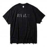 RANDT - T-shirt - RANDT Slashed - Black