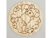 MOUNTAIN RESEARCH-Anarcho Cups 045 - Bear Lid (for Solo) - Beige
